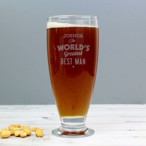 Personalised The World's Greatest Beer Glass